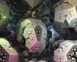 IFS fractal 13 by KrzysztofMarczak