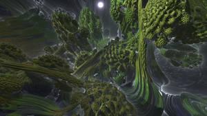 Green Mandelbulb by KrzysztofMarczak