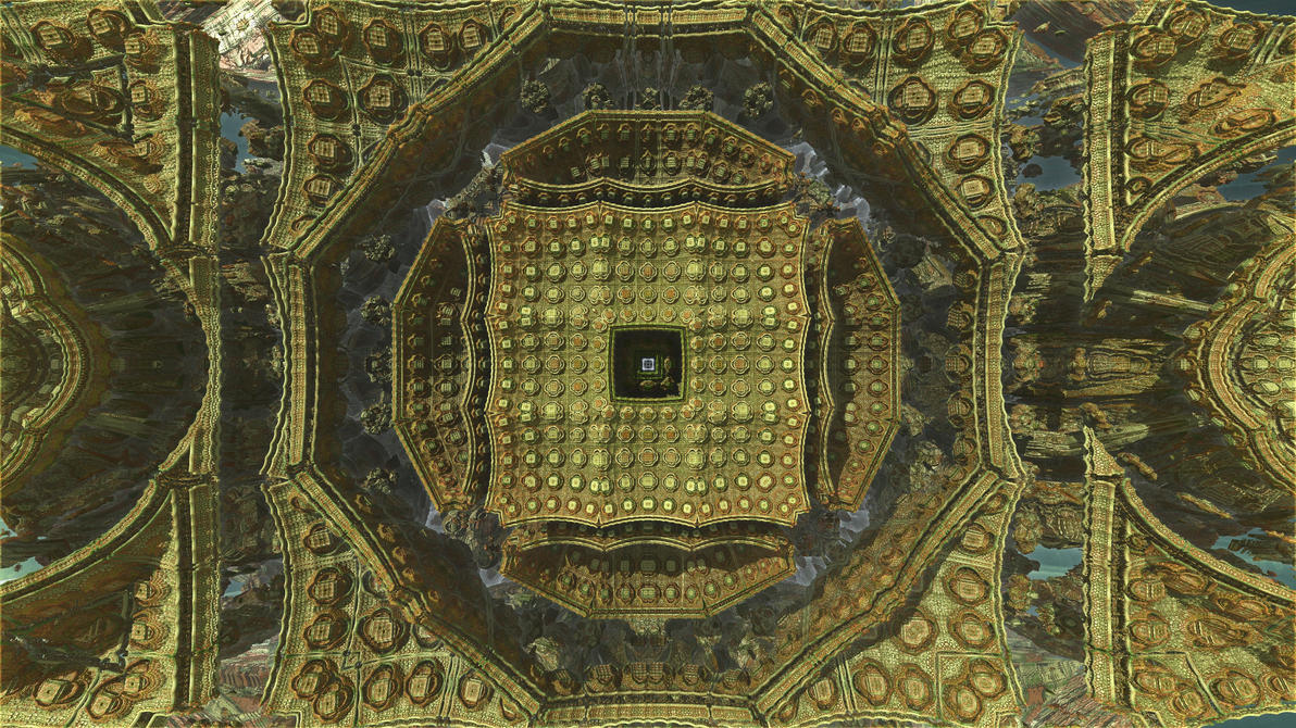 Hybrid fractal 5 by KrzysztofMarczak