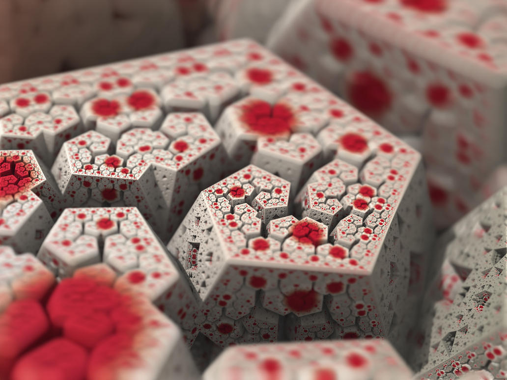 IFS fractal 14 by KrzysztofMarczak