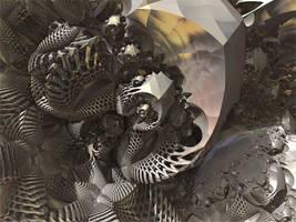 Mandelbox - add. rotatations by KrzysztofMarczak