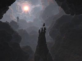 Light in darkness by KrzysztofMarczak