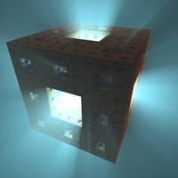 Penetrating volumetric light by KrzysztofMarczak