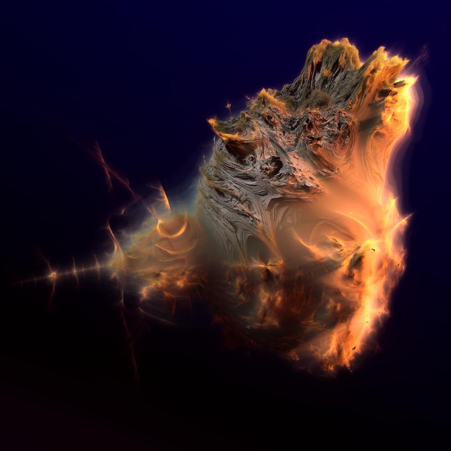 Real shape of Mandelbulb by KrzysztofMarczak