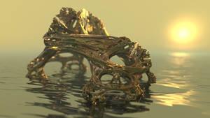 Julia 3D 048 by KrzysztofMarczak
