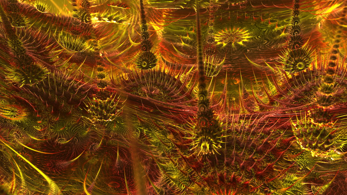 Modulus Mandelbulb by KrzysztofMarczak