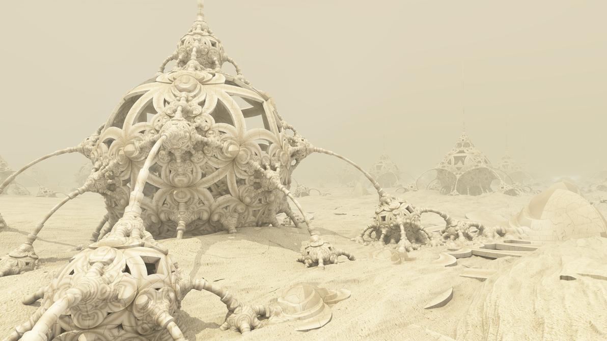Sand... sand... by KrzysztofMarczak