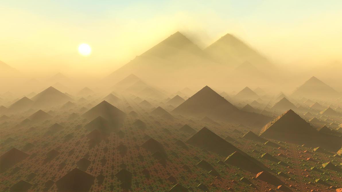 Pyramids by KrzysztofMarczak