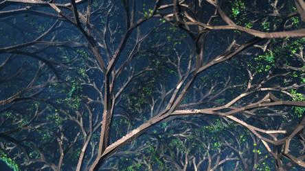 IFS Trees by KrzysztofMarczak