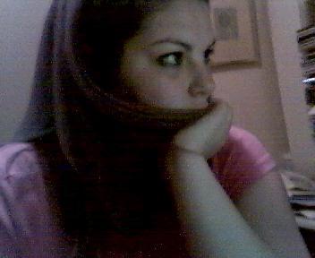webcam shot of me by keeptheaversion