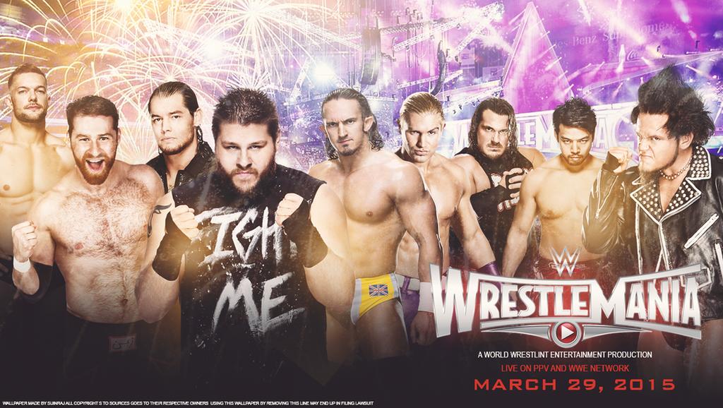 Wrestlemania 31 NXT Version Wallpaper By Subinraj