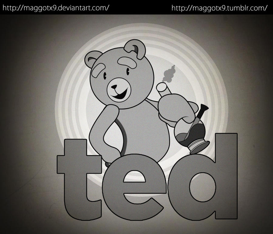 Old School Ted by Maggotx9