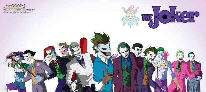 The Clown Prince of Crime by Maggotx9