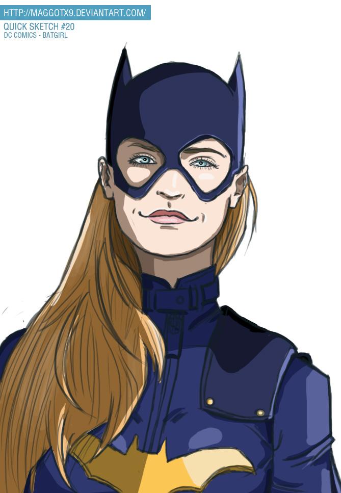 Batgirl 2014 by Maggotx9