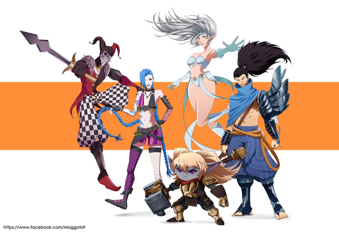 League of Legends Team by Maggotx9