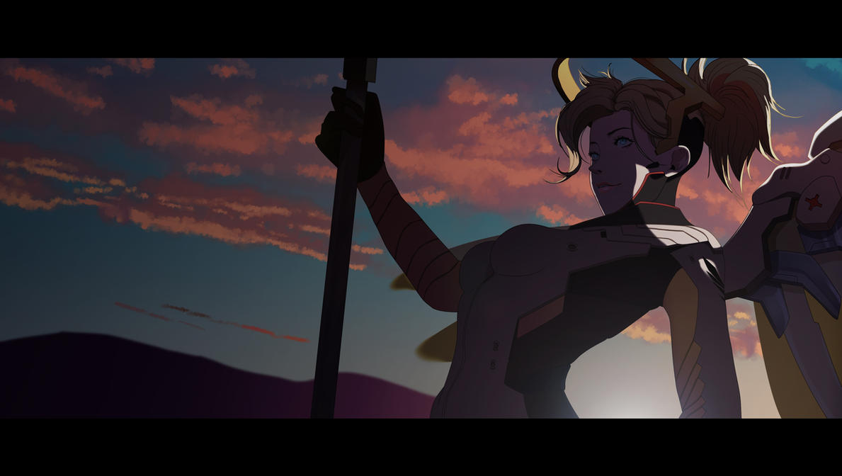 Mercy animated by Maggotx9