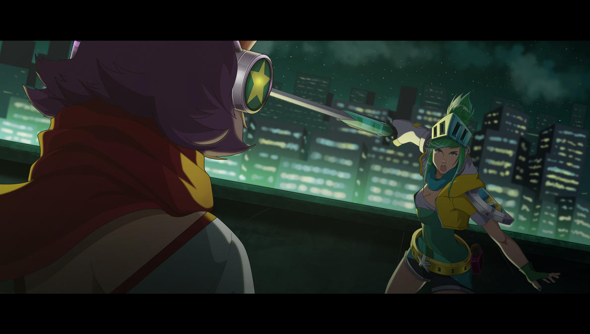Arcade Battle by Maggotx9
