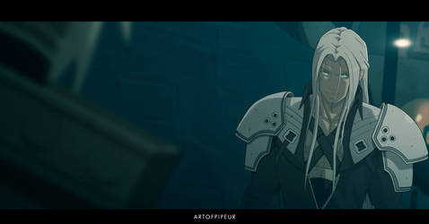 Final-Fantasy 7 Sefiroth Anime Style