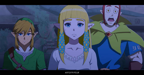 Anime Style The Legend of Zelda Skyward sword