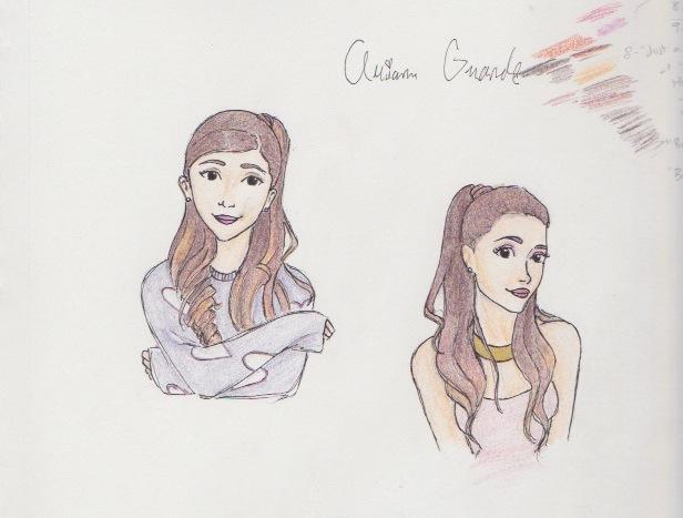 Ariana Grande Sketchdump by this-is-a-paradox