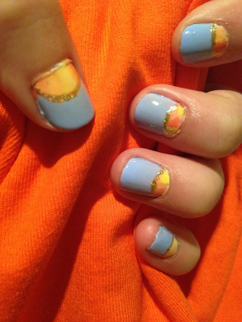 THE BLOOD OF OLYMPUS manicure 2 by this-is-a-paradox