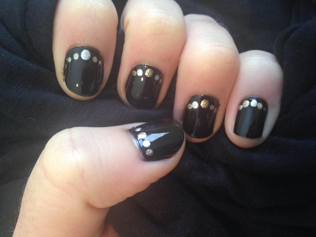 Nico\'s birthday manicure by this-is-a-paradox on DeviantArt