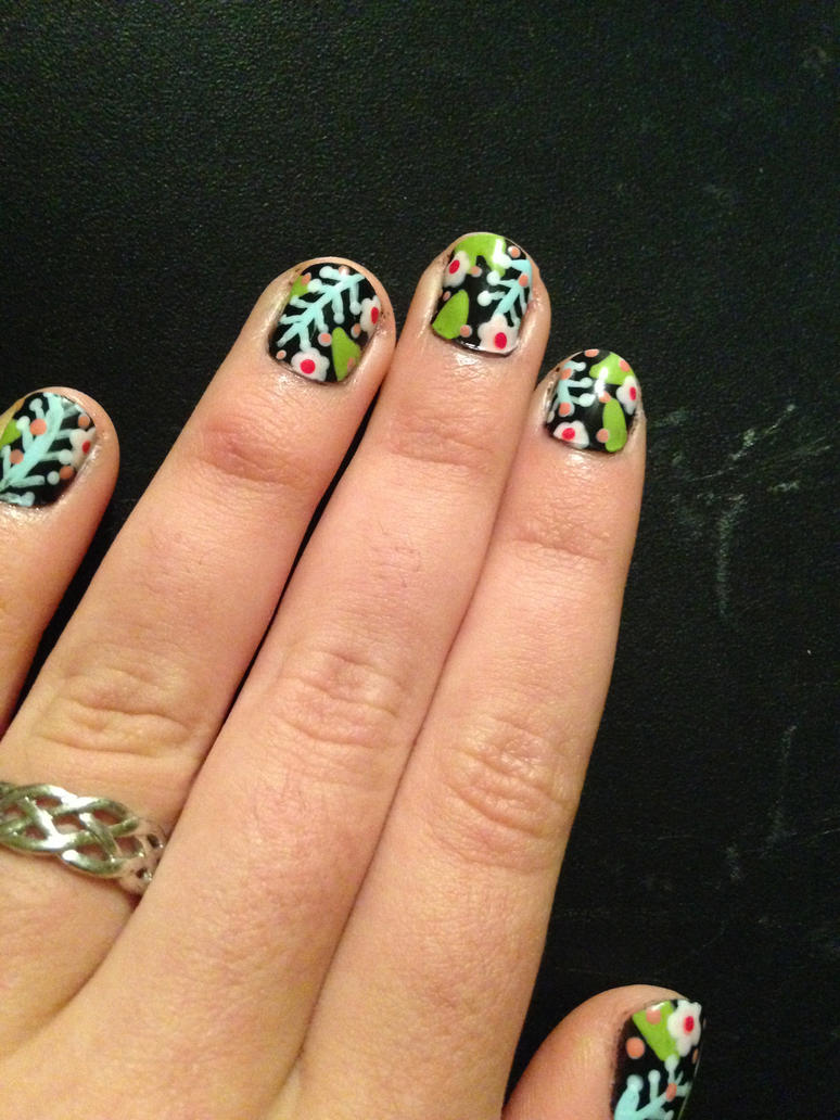 MATTE Spring Nails by this-is-a-paradox
