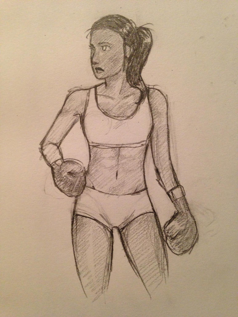 Boxing girl by this-is-a-paradox