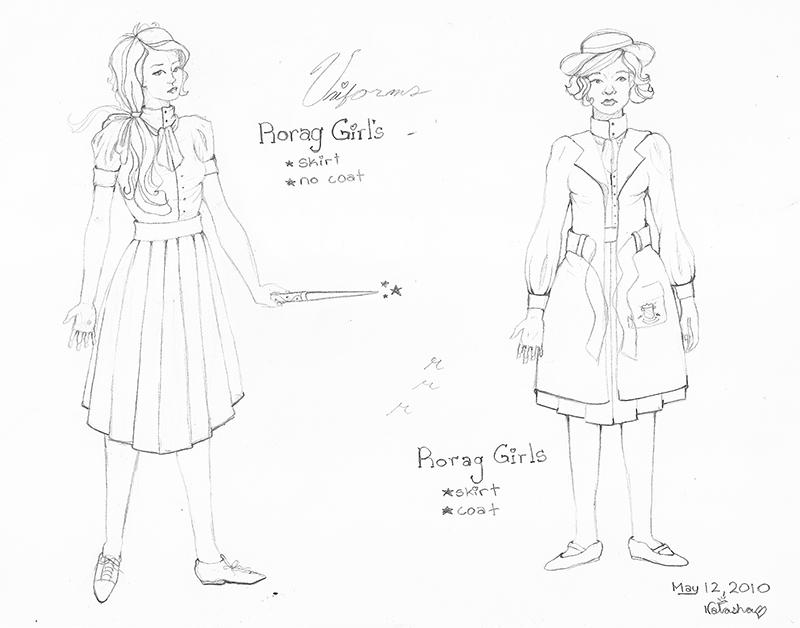 rorag: uniforms girls skirts by FoxyRepublic