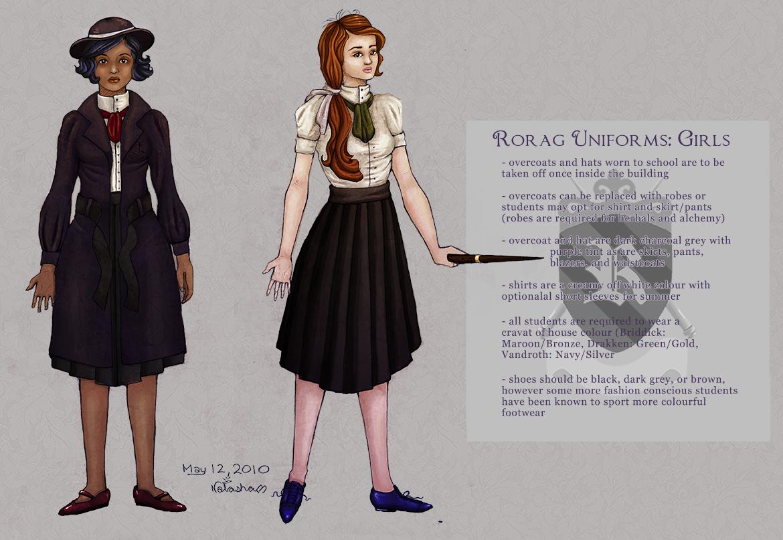 rorag: uniforms girls skirts 2 by FoxyRepublic