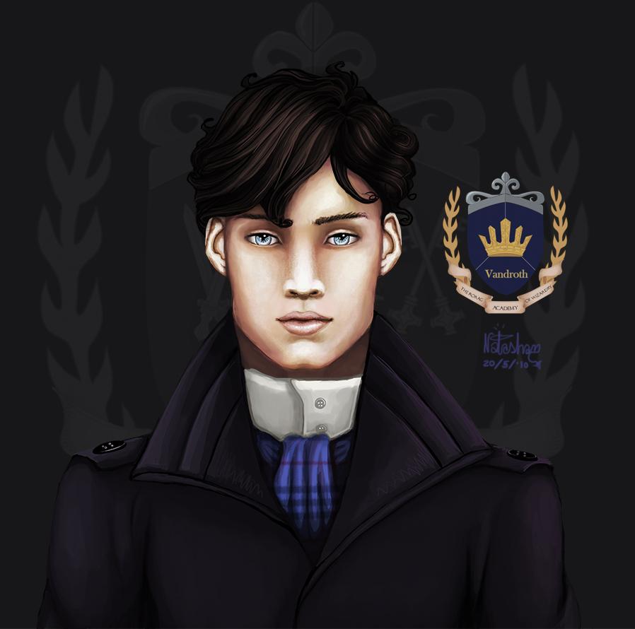 rorag: moody Mr. Dougland by FoxyRepublic