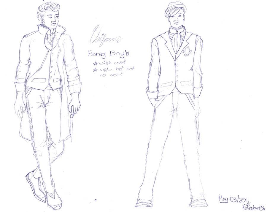 rorag: uniforms boyz by FoxyRepublic