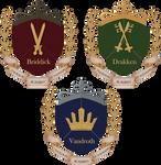 rorag: house crests by FoxyRepublic