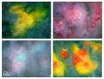 Mini Galaxies by FoxyRepublic