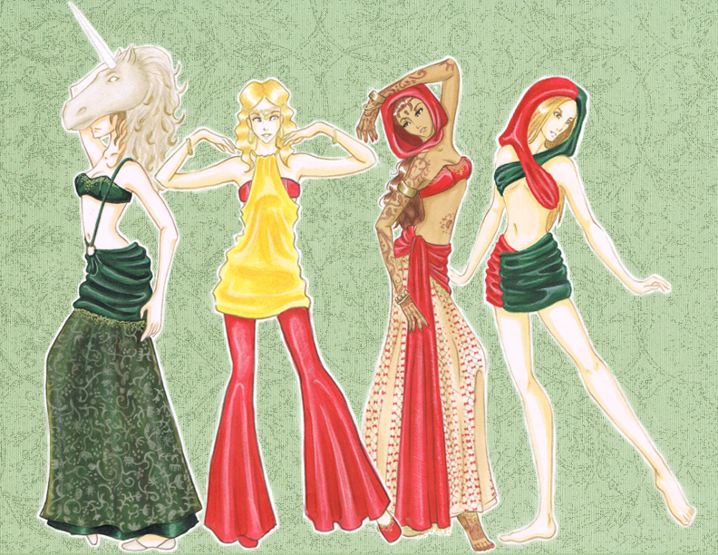Fashion Art Project - Medieval by DJ-ReTRO