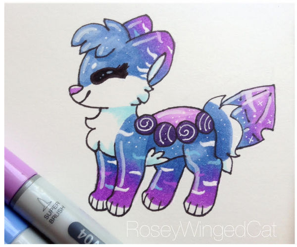 Glacia in Copics by RoseyWingedCat on DeviantArt