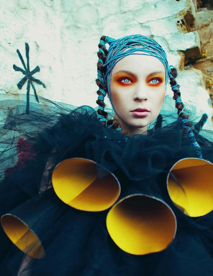 Elele杂志时尚设计师:Merve KirsanHair - 牧笛 - ☆【牧笛】世界顶级艺术图典 ☆