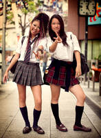 Japanese Street Fashion 5 by hakanphotography