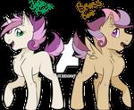 MLP Next-Gen Scootaloo-x-Sweetie Belle