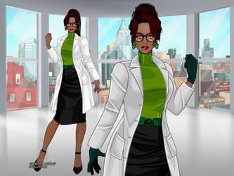 DCEU - Pamela Isley (Casual Design Concept 2) by QuingMatty