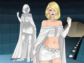MCU - Emma Frost (Evolved Design 1) by QuingMatty