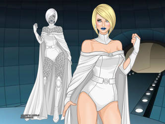 MCU - Emma Frost (Evolved Design 2) by QuingMatty