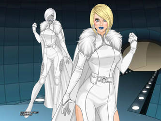 MCU - Emma Frost (Evolved Design 3) by QuingMatty