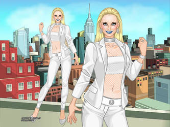 MCU - Emma Frost (Casual Design 2) by QuingMatty