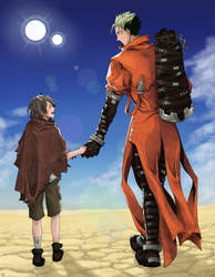 I'm in the world of Trigun