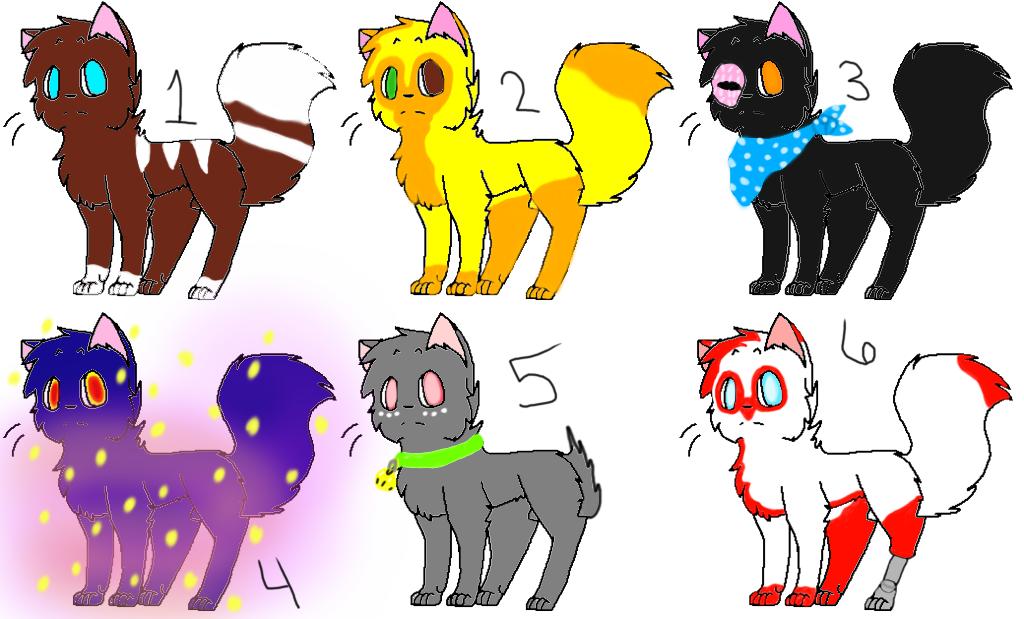 Cat Adopts #1 (3/6) by Winterz-Adoptz