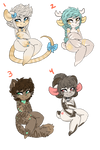 Adoptables 05 AUCTION OVER