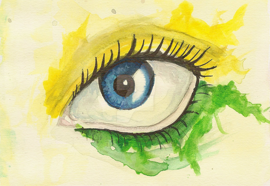 Eye by Orichii