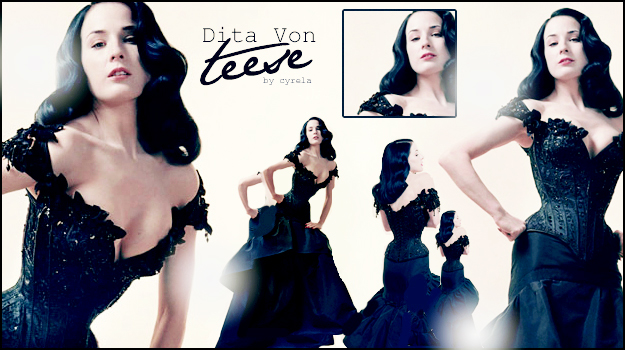 Dita Von Teese by cyrela