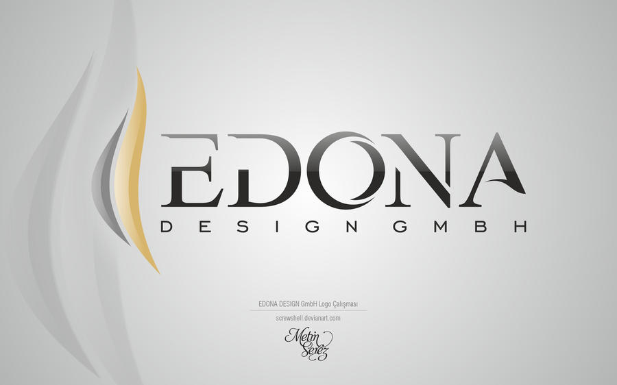 Edona design gmbh logo2 by serezmetin on deviantart for Burodesign gmbh logo